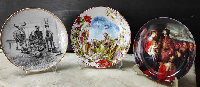 Vista Alegre - pratos decorativos colecção Natal