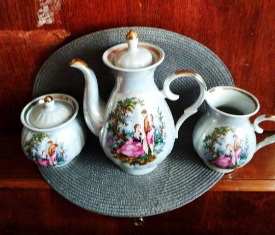 Набор для чаепития сервиз ссср советский чайник сахарница для сливок
