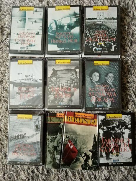 Płyty DVD Hitler 2 Wojna światowa Nowe w Foli  Książki