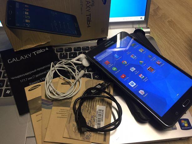 Новый игровой планшет мощный 4 ядра Samsung Galaxy Tab4
