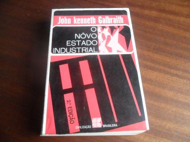 """""""O Novo Estado Industrial"""" de John Kenneth Galbraith 2 Edição de 1969"""