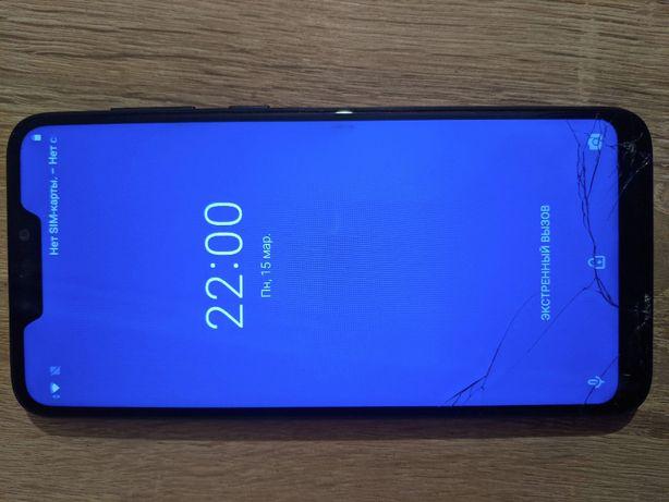 ASUS ZenFone Max M2 4/32GB, рабочий, разбито стекло. UA-UCRF