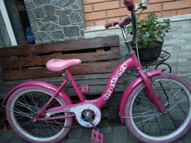 Велосипед для девочки ,  колеса 20''