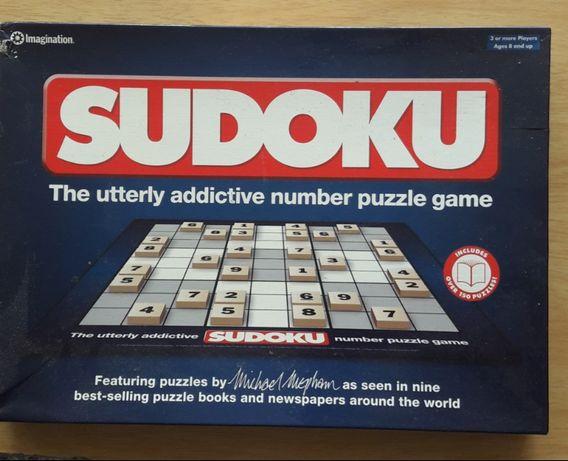 Sudoku - układanka logiczna,wspaniała łamigłówka.Doskonała jakość..