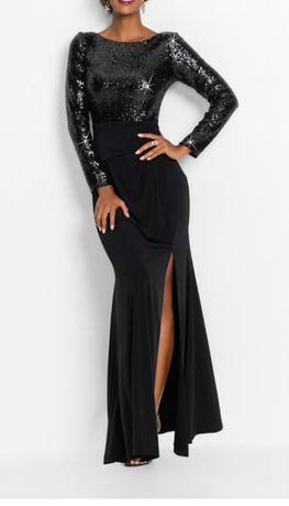 Suknia wieczorowa Bonprix bodyflirt 46 długa maksi