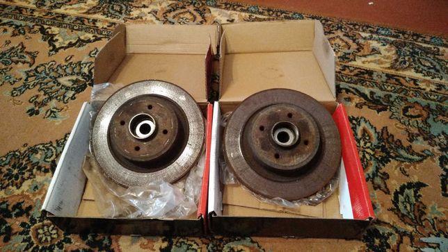 Тормозные диски зад Renault Scenic 1 ф2  с подшипниками и ABS
