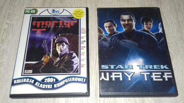 Gry komputerowe Star Trek Away Team i mortyr (wersje 32 bit)