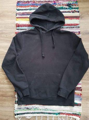 Czarna bluza z kapturem C&A rozmiar L