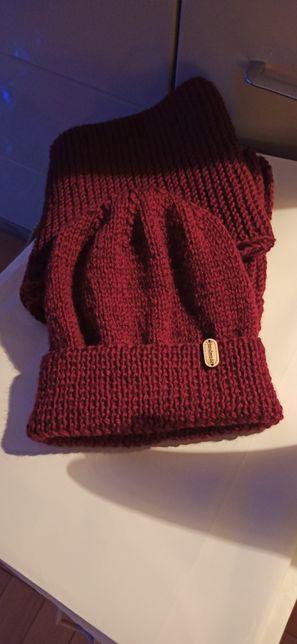 Komplet czapka +szalik