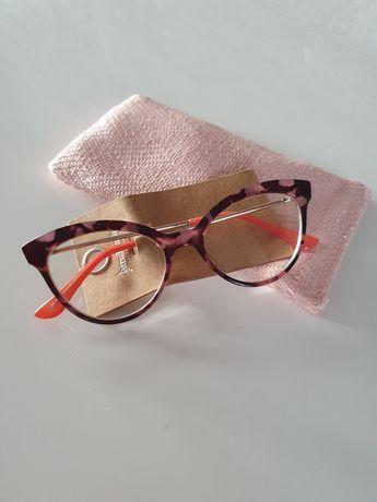 Очки Stradivarius в леопардовой оправе леопардовые имиджевые очки