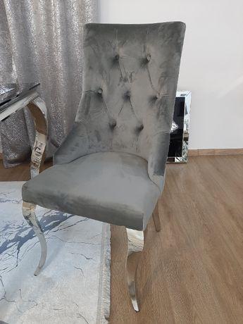 Krzesła GLAMOUR szare