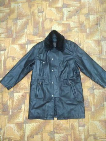 Кожаная куртка, плащ Vera Pelle 54 р Италия
