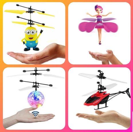 Летающий вертолет,летающий шар,фея,бакуган