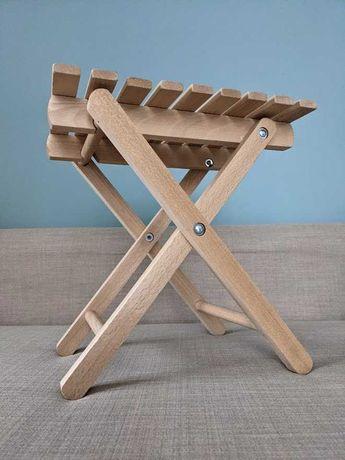 Drewniane krzesełko krzesło składane turystyczne