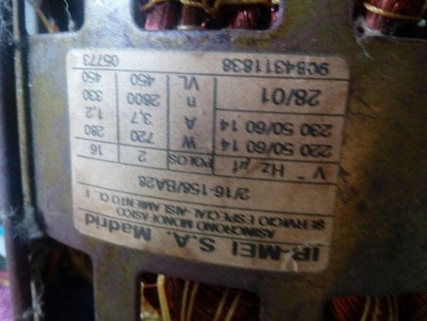 Motores de máquinas de lavar