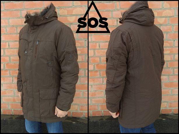 SOS Sportswear утепленная куртка парка M-L оригинал columbia alpha