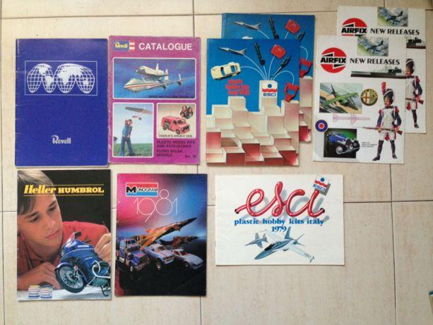 Catálogos Tamiya Esci Italeri Revell Airfix Matchbox Troféu Sun Star
