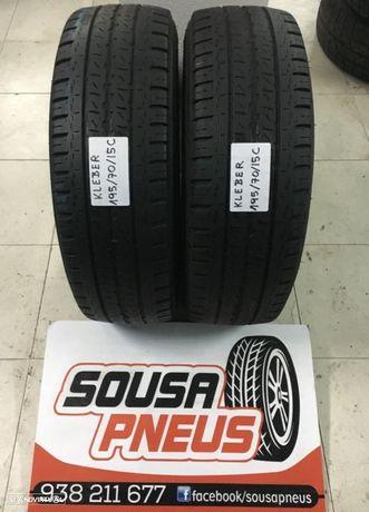 2 pneus semi kleber 195-70-15C Oferta da entrega