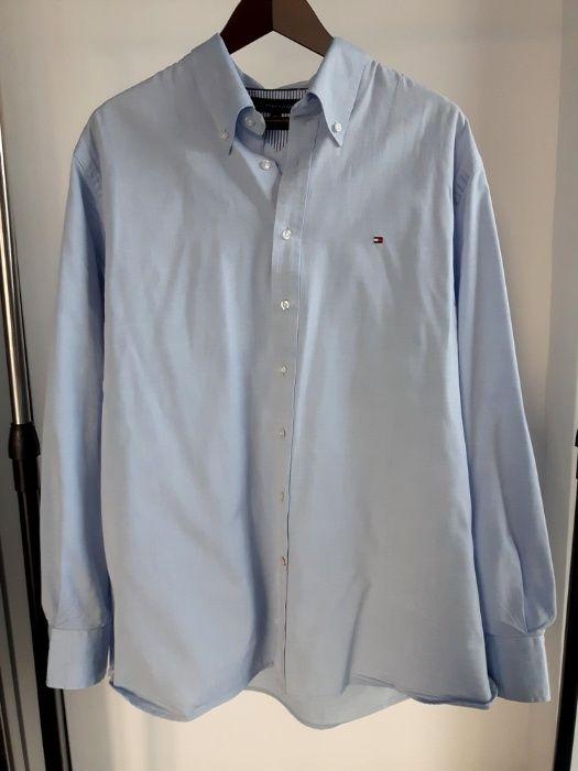 Niebieska koszula Tommy Hilfiger Nowy Sącz - image 1