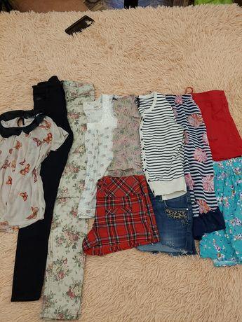 Лот,пакет на девочку подростка,размер 8,10.скини,шорты,блуза,юбка,майк