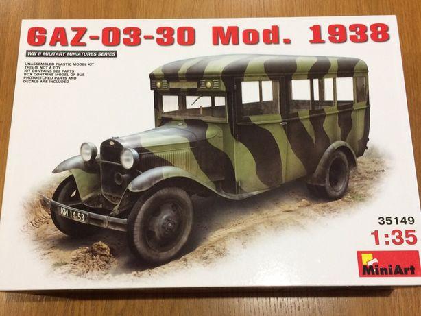 Сборная модель автобуса ГАЗ-03-30 MiniArt, 1/35