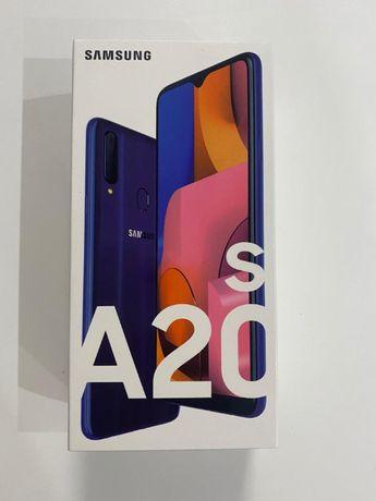 NOWY Samsung A20s niebieski! Nieotwierany ! Gwarancja 24 mc