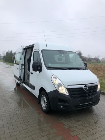Opel Movano 2,3 170km L3H2 Brygadówka 7os/klima/kamera/webasto/