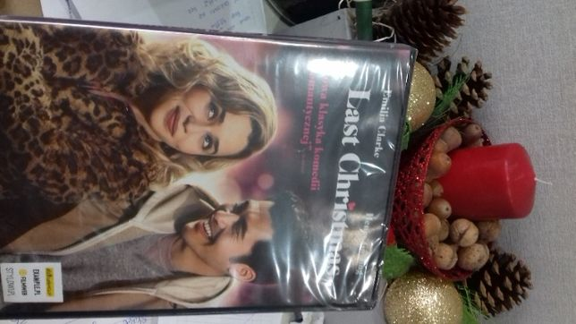 Last christmas dvd, folia, sklep, od ręki
