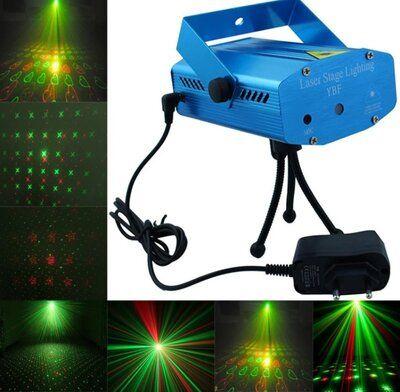 Диско LASER 6in1 (лазер для помещения, лазерная установка)