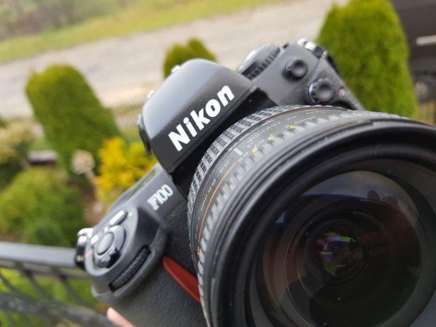 Nikon F100 + obiektyw Nikkor 24-85 mm
