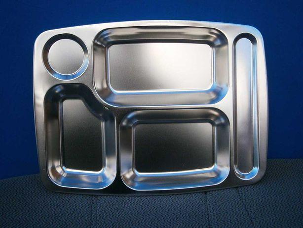 Піднос столовий на 5 відділень MFH 33396, нержавіюча сталь.
