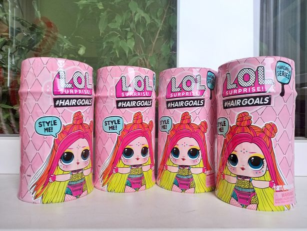 Кукла лол LoL с волосами Hairgoals OMG оригинал