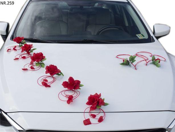 Dekoracja na samochód dostepna w dowolnym kolorze/ozdoby/stroiki
