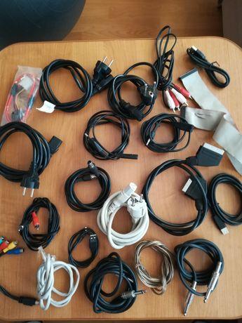 Kable = zestaw kabli połączeniowych .