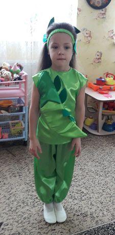 """Карнавальный костюм """"Горошек"""" для девочки или мальчика 5-7 лет"""