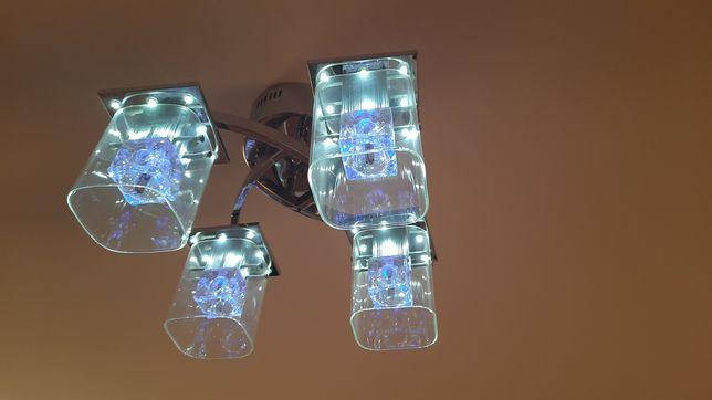 Lampa sufitowa z kompletem żarówek