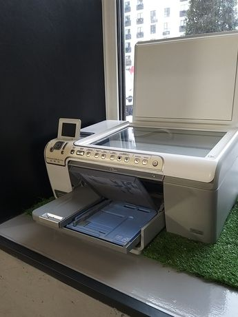 Принтер hp photosmart c5283 all-in-one + картридж