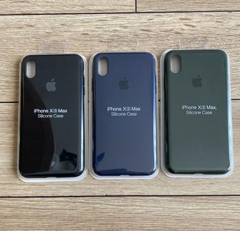 Case apple iphone xs max czarny granatowy zielony