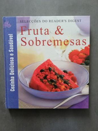 """Livro de receitas """"Fruta e sobremesas"""" - Seleções do Reader's Digest"""