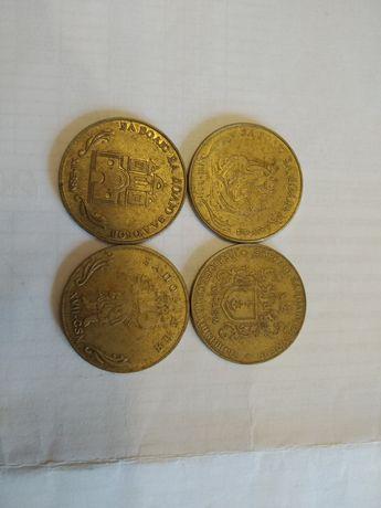 Продам сувенірні монети 1 гетьман