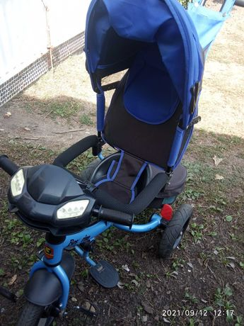Коляска велосипед для мальчика