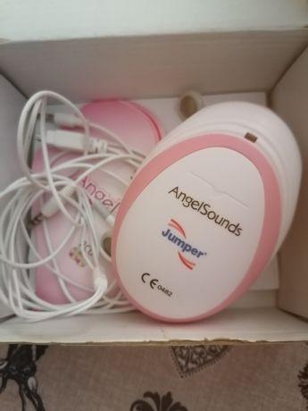 Detector para grávida ouvir batidas do bebé.