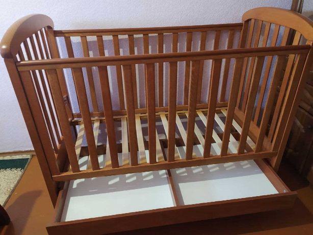 Дитяче ліжечко ТМ Верес з матрациком