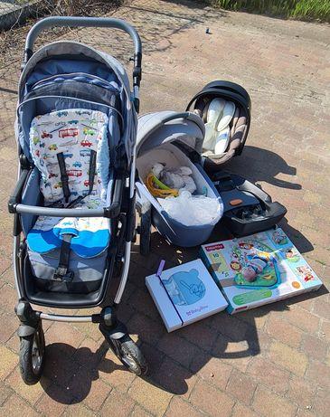 Wózek Baby Design Lupo Comfort 3w1 Cybex Isofix