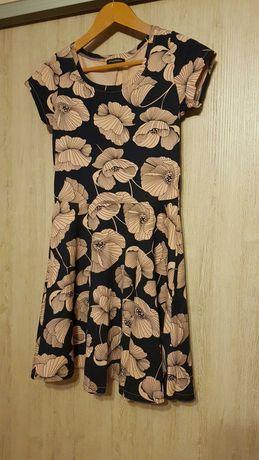Sukienka C&A rozm. S/M, NOWA, eco bawełna