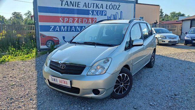 Toyota Corolla Verso 2.0 Diesel/2002/Długie opłaty/ZAMIANA/SKUP/GWARAN