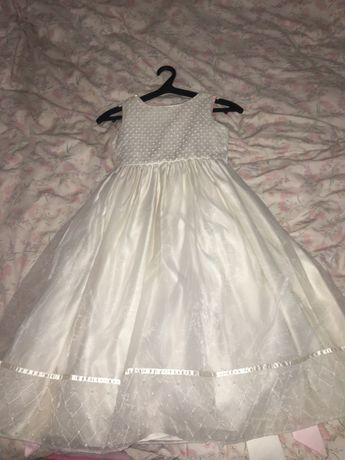 Продам детское белое платье