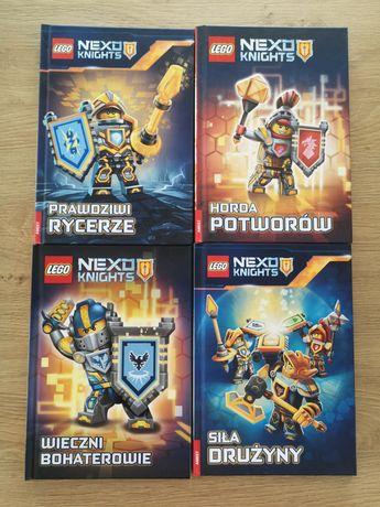 Książki lego nexo knights