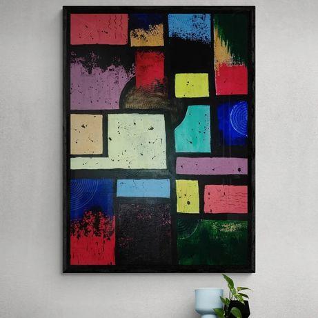 Живопис абстрактная