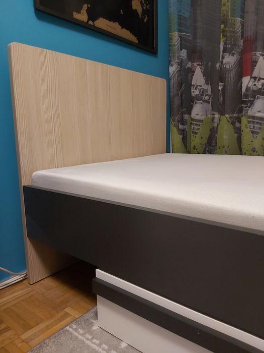 Łóżko IKAR młodzieżowe 205x95 szuflada materac 17cm Lublin - image 1
